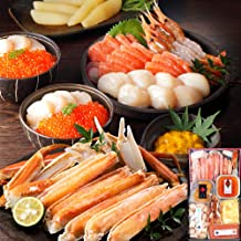 島の人 北海道 豪華 蟹付き 海鮮 7点 セット [宴(うたげ)] お歳暮 ギフト 内祝い 贈答