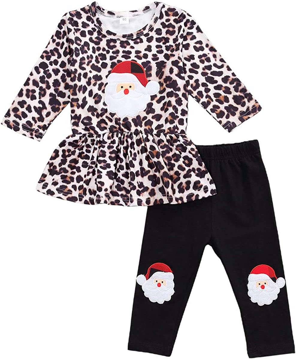 Newborn Infant Baby Girl 100% quality warranty! Christmas Leo quality assurance Clothes Sleeve Long Santa