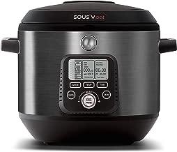 SOUSV pot Precision Sous Vide Multi Cooker, Sous Vide to Sear, Multi-Use Programmable Slow Cooker, Delay Timer Function, Sauté, Boil, Food Steamer, Rice Cooker, Yogurt Maker