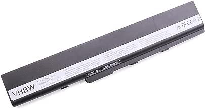 vhbw Li-Ion Akku 4400mAh 14 8V schwarz f r Notebook Laptop Asus N82 N82E N82EI N82J N82JQ N82JQ-VX002V N82JV wie A42-N82 70-NYX1B1100Z Schätzpreis : 40,58 €