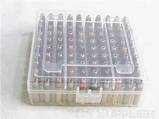 OTSupplier®.22LR Rifle Ammo Heavy Duty Clear Storage Box