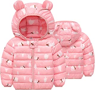 M/&A Girls Hooded Trench Coat Jacket Lightweight Spring Autumn Jacket Outwear