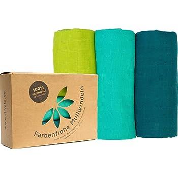 20 couches en tissu 100/% coton coloré tissu couche mullwindeln spucktuch 70x80 CM