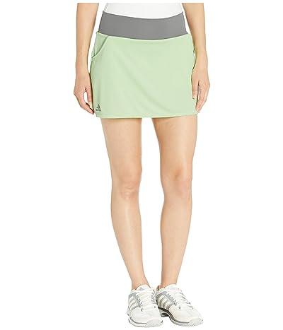 adidas Club Skirt (Glow Green) Women