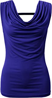 H2H Womens Casual Slim Fit Sleeveless Tank Tops Summer Sexy Blouse of Various Styles