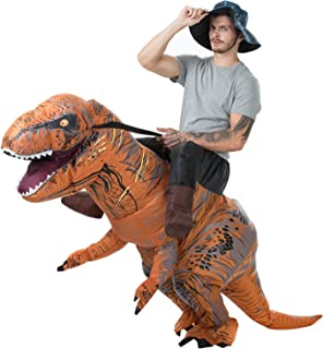 T-Rex Riding Costumes Brown