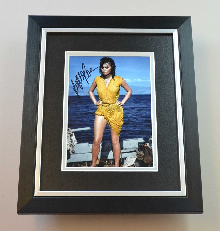 Sophia Loren Signed 10x8 Photo Framed Movie Memorabilia Autograph Display + COA