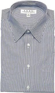 Enro Iron Point Collar Bengal Stripe Dress Shirt