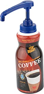 Top Roast Colombian Concentrate | 15.2 Ounce Pump Bottle | Makes 100 Cups or 12 Pitchers