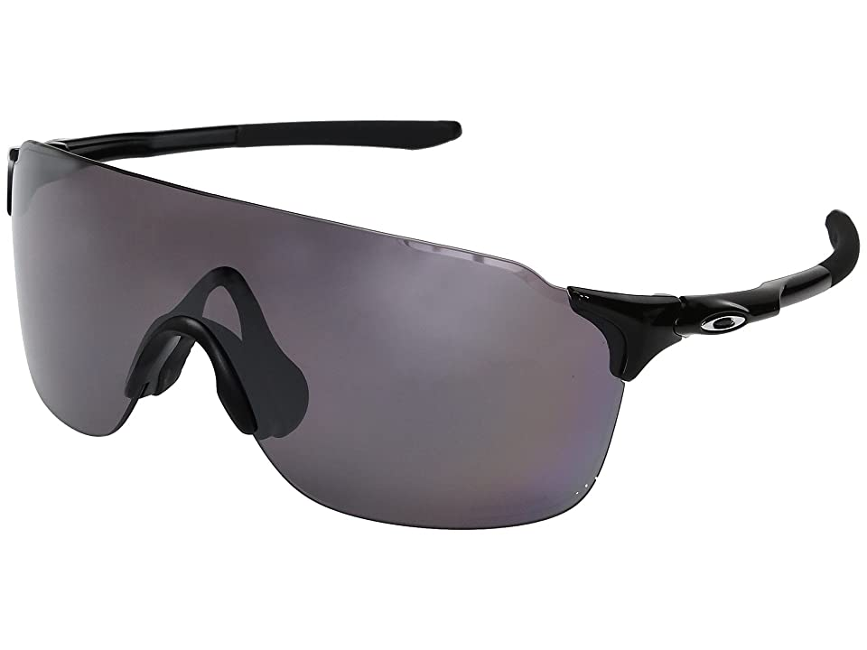 Oakley Evzero Stride (Polished Black w/ Prizm Daily Polarized) Fashion Sunglasses