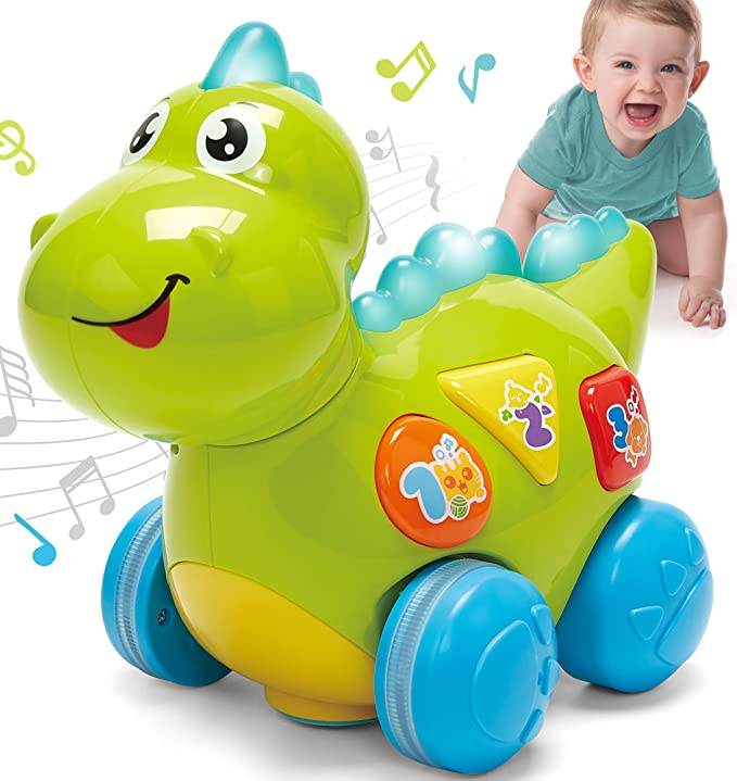 3881 opinioni per CubicFun Dinosauri Giocattoli Musicali 12-18 Mesi Giochi Bambini 1 Anno,