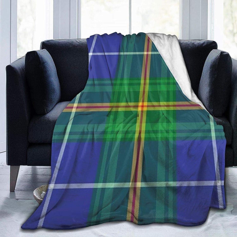Nova Scotia Tartan Element Quantity limited Store Construction Blanket Throw Fleece S