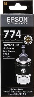 Epson T774 Pigment Ink Bottle, Black