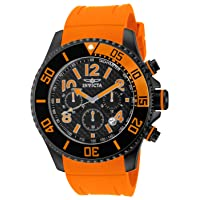 Deals on INVICTA Pro Diver Chronograph Quartz Black Dial Men's Watch