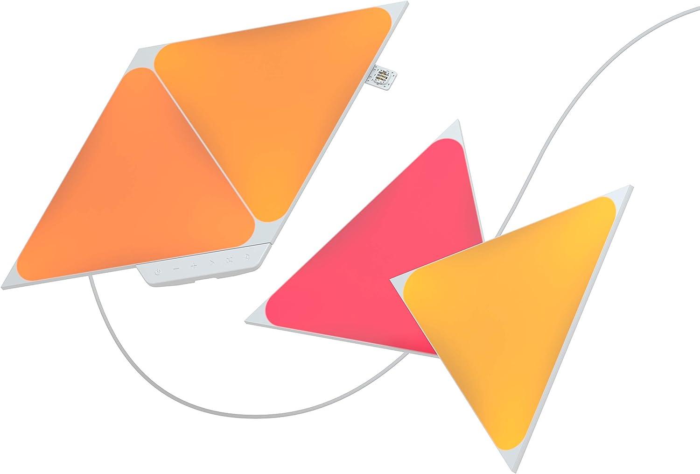 Nanoleaf Shapes Triangles Starter Kit - 4 Triángulos Luminosos