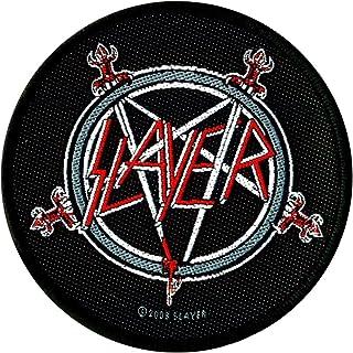 Slayer Aufnäher Pentagram in 9 cm