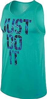 Nike Just Do It Stencil Camo Dri-FIT Cotton Blend Mens Tank Top Shirt