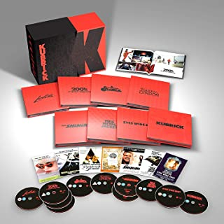 Stanley Kubrick: Limited Edition Film Collection Limited Edition - 4K UHD, Region Free Blu-ray, DVD Zone 2