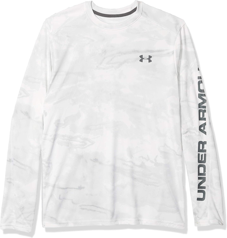 Under Armour Men's Outlet sale feature Iso-Chill Shore T-shirt Ranking TOP20 Crew-Neck Camo Break