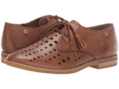 Hush Puppies Chardon Perf Oxford (Camel Leather) Women