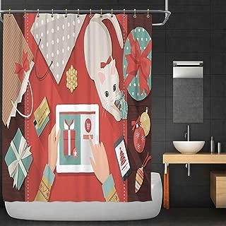C COABALLA okjeffmas Online Shopping Fabric Shower Curtain,119835 for Bathroom Decor,36''W x 72''H