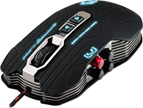 Dragonwar ELE-G15 Gaia Blue Sensor Computer PC Game 4000 DPI Professional Wired Gaming Mouse