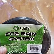 CO2 Rain System w// 25 ft Tubing Titan Controls Carbon Dioxide