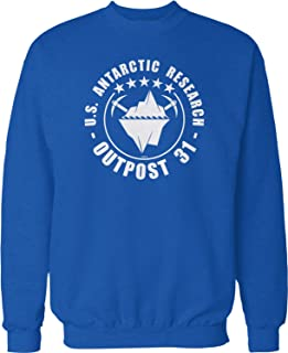 NOFO Clothing Co Outpost 31 US Antarctic Research Crew Neck Sweatshirt