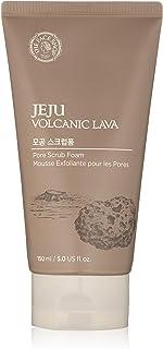 The Face Shop Jeju Volcanic Lava Pore Scrub Foam 150 Ml, 150 ml