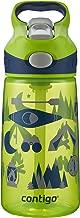 Contigo AUTOSPOUT Straw Striker Kids Water Bottle, 14 oz, Granny Smith Camping