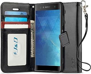J&D J&D Case Compatible for Xperia XA2 Ultra Case, [Wallet Stand] [Slim Fit] Heavy Duty Shock Resistant Flip Cover Wallet ...