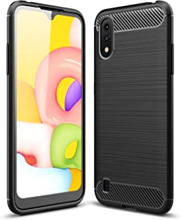 Wuzixi Case for SamsungGalaxyA01. Double Layer Professional Anti-collision Cover, Durable,Four Corners Thickened, Cover ...