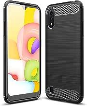 Boleyi Case for Samsung Galaxy A01, [Anti-Slip] [Ultra-Thin] [Durable] TPU Cover Phone Case, for Samsung Galaxy A01 Cover -Black
