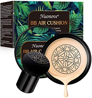 BB Cream CC Creme Líquida Fundación Mushroom Head Air Cushion BB Cream Ocultador Base de Maquillaje Maquillaje de La...