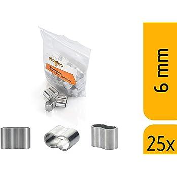 Gummileine Spannseil Planenseil Gummischnur Seilwerk STANKE Gummiseil Expanderseil Gr/ün 4 mm 25 Meter