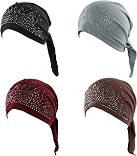 Best pre wrapped head scarf Reviews
