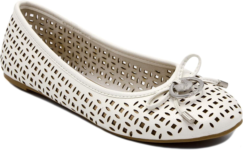 Nautica Women's Solana Ballet Flats-Casual Walking shoes