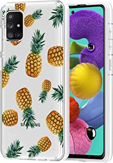 Vavies Phone Case for Galaxy A51 (Not Fit A51 5G Version), Cute Slim Shockproof Clear Pattern Soft Flexible TPU Back Phone...