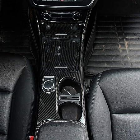 Zierleisten Für Die Mittelkonsole Aus Karbonfaser Chrom Für Benz A Gla Cla Klasse W176 A180 2 Stück Auto