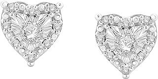 Best tiffany diamond heart earrings Reviews