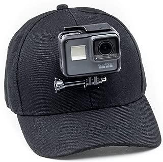 Polaroid e altre Action Camera MI LITE YI 4K//4K plus Fusion SJCAM Session TELESIN Surf Bocca Mount Pattinaggio Spara Dummy Bite Mount Bocchino Holder Adapter per GoPro Hero 2018//7//6//5//4//3