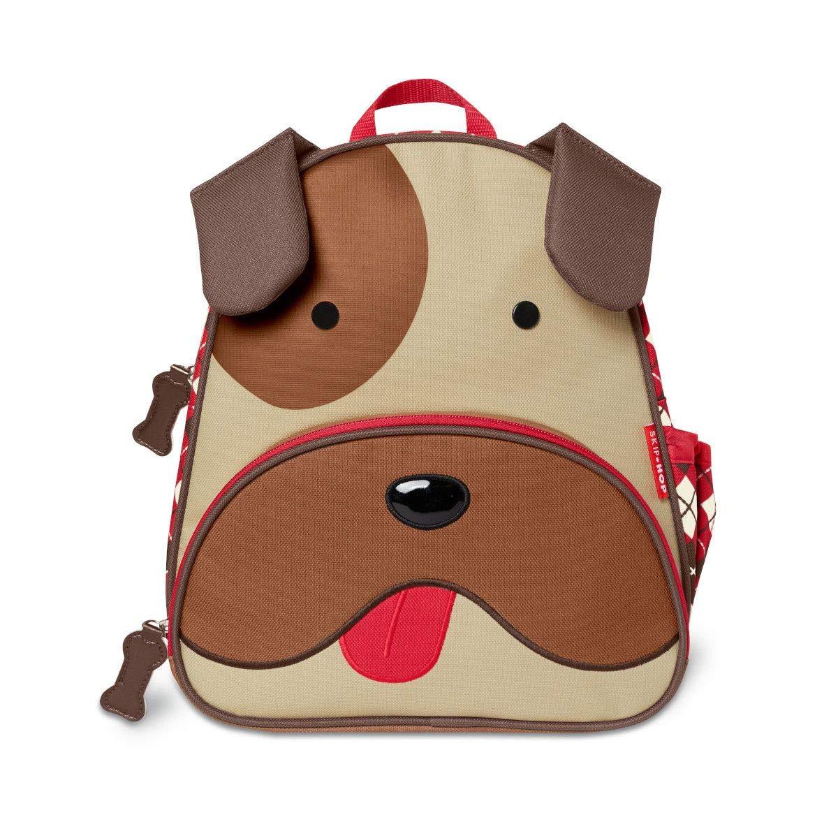 스킵합 불독 강아지 책가방, 12인치 Skip Hop Zoo Winter Pack - Bronx Bulldog (212505)