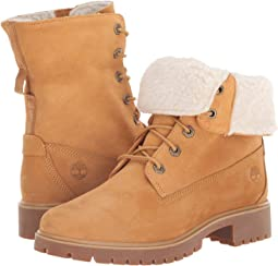 Timberland Authentics Faux Fur Fold W chaussures 11,0 orange
