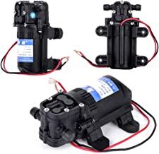 COMPANY LILI 1pc High Pressure Low Noise Black DC 12V Water Pump 70 PSI Agricultural Electric Mayitr Diaphragm Water Spray...