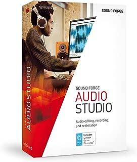 SOUND FORGE Audio Studio – Version 12 – audio editor including mastering plug-in