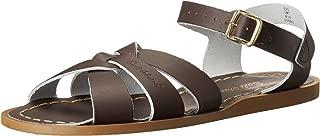 brown saltwater sandals