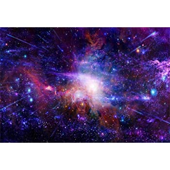 15x10ft Background Galaxy Photography Backdrop Space Theme Photo Props LHFU247