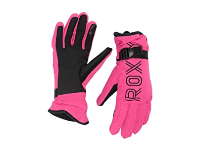 Roxy Freshfield Snow Gloves (Beetroot Pink) Ski Gloves