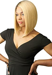 (4) - New Born Free Magic Lace Curved Part Synthetic Wig - Magic Lace 156-4