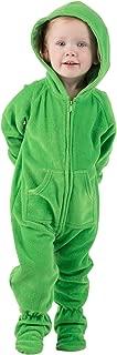 Emerald Green Infant Hoodie Fleece Onesie
